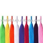 fashion polyester shoelaces for mens shoes ,ladies shoes