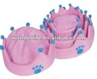 Durable thick sofa fabric pet bed with removable cushion,3 size assorted