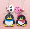 Soft PVC cell phone charm