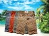 men's 100% cotton multi pocket casual short pants