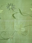 silk and cotton douppioni embroidery fabric-97