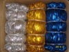 shiny metallic elastic cord