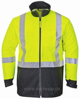 Men's high visible reflective safety jacket (JKPU-6000)