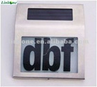 Solar House Number Light with CE Certificate