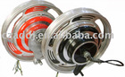"48v-350w brushless 16"" electric tricycle motor"