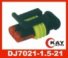 Auto female waterproof Connector DJ7021-1.5-21