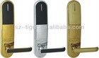 good quality pure zine alloy hotels lock for hotel card lock system