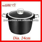 2012 New Design Aluminum Deep Soup Pot