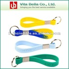 Silicone Keychain 2012 with different country flag printing, High scalability Rubber Silicone Keychain