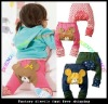 2012New Autumn&Winter 100%cotton Kids' Cartoon PP Pants Thick Trousers busha pp pants pp pants infant pant cotton pant baby
