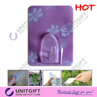Reusable colourful printing reusable silicon adhesive hook