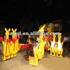 Kids Playground Happy Jumping Kangaroo