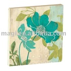 Patellate Blue Flower Wholesale Magnets