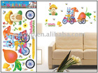 cartoon wall sticker