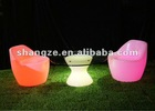 outdoor led illuminate stool