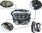 soft side compartment camouflage fishing tackle bags