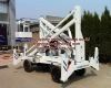 electric and diesel engine articulated boom lift table