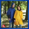 PA/PU/PVC waterproofed breathable rain wear