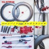 [ROAD BICYCLE]2012 700C Carbon bike wheel -88mm tubular