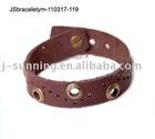 100% handmade leather Bracelet