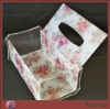 Acrylic/Perspex Napkin Case with Fashionable pattern