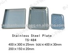 304 or 316L Stainless Steel Tray