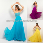 Wholesale Sweetheart Empire Flowing Skirt Beaded Stones Night Dress