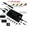 Supply AC/DC 120W 3in1 Universal Laptop Power Charger