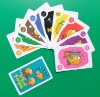 top quality paper educational cards,children educational playing cards