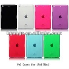 Shiny TPU Soft Gel Skin Back Cover Protector Case For Ipad Mini