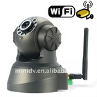 3G WIFI GPRS connecting wireless ip wifi camera with motion detect & night vision two way Audio monitoring