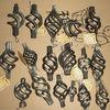 wrought iron basket ornamental