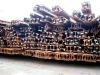 QU70/QU80/QU100/QU120 steel crane rails