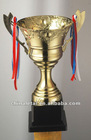 2012New Hot Metal and Plastic trophy cup
