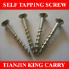 CSK Head Self Tapping Screw With Ribs