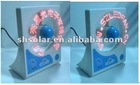 colorful mini usb fan with customized led message
