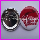 tinplate badge