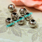 Jewlery Finding Stainless Steel Round Hollow Beads