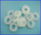 Decorative plastic washers