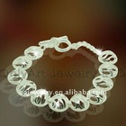 best price 925 sterling silver bracelet paypal acceptable