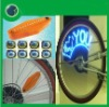 Car Auto Bike Motorcycle Tyre Valve Caps Neon Light Lamp Wheel LED