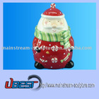 christmas Santa Claus cookie jar