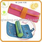 Jewelry roll,jewellery pouch