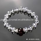 Cut face bead crystal stone bracelet