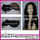 human hair pieces with long curl hair style
