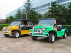 Electric motor vehicle (Mini moke)