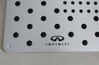 for infiniti anti-skid pedal car Prevent slippery pedal carpet pedal