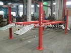 2012 hot model of aluminum ramps four post car parking with aluminum drip tray ETL motor