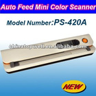 2012 Newest Auto Feed 600 DPI Color Mini Scanner