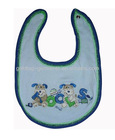 100% cotton baby bibs with snap